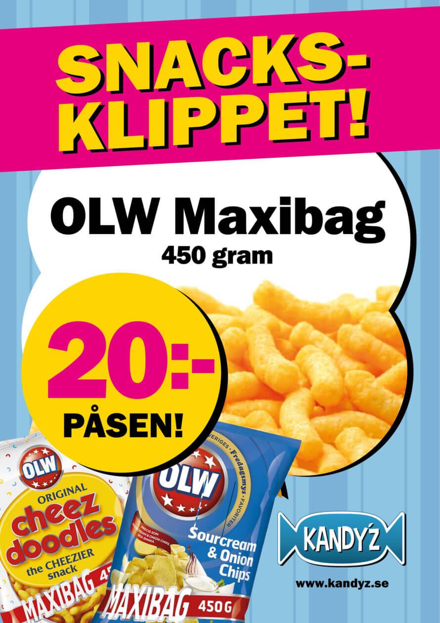 Snacksklippet OLW Maxibag