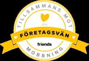 Vi stödjer Friends!